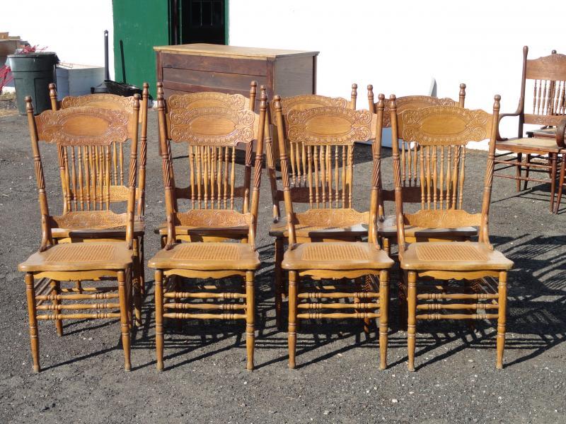 Z's Antiques & Restorations - Home - Antique Press Back Chairs Antique  Furniture - Antique Press - Antique Press Back Chairs Antique Furniture